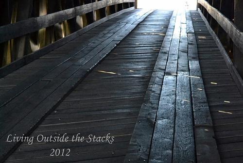 Burfordville Covered Bridge {This or That Thursday}