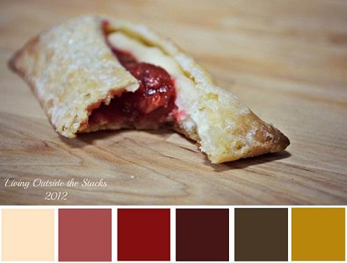 Strawberry Cream Pie Color Palette