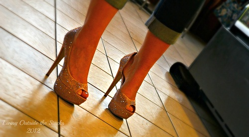 Sparkly Shoes {Shoe Style Saturday}