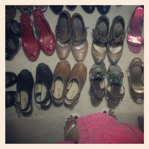 What to Wear? Shoes.