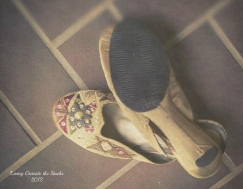 Broken Slippers {Shoe Style Saturday}