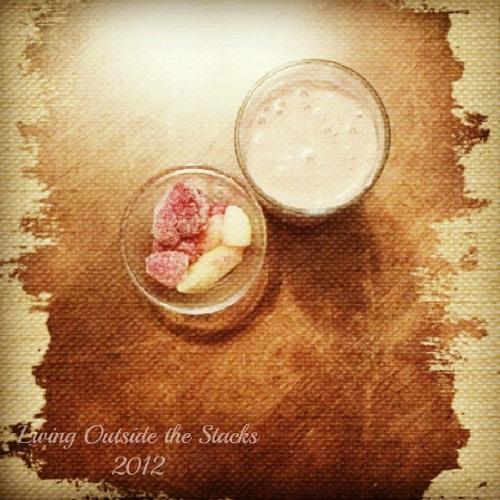 #Cinchspiration Shake and Mixed Berries