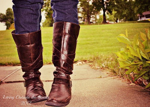 Boots {Living Outside the Stacks}