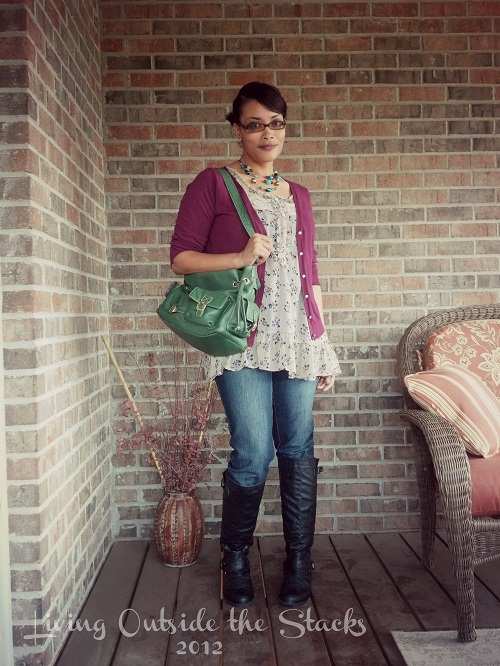 What I Wore Monday {Living Outside the Stacks}