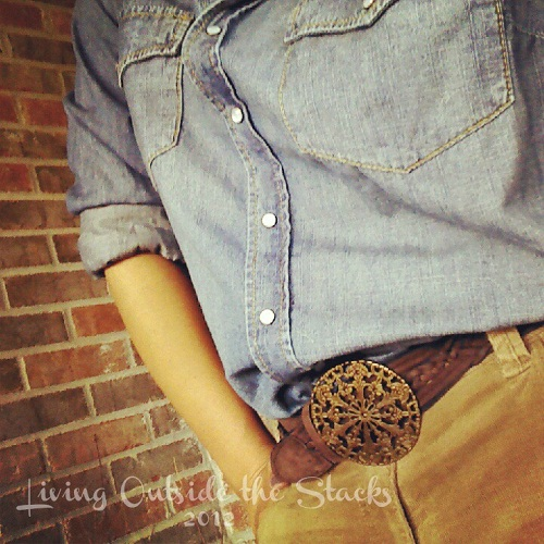 What I Wore Tuesday {Living Outside the Stacks}