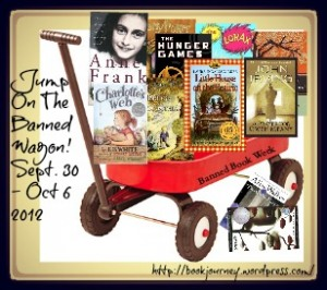 Banned Book Wagon {Book Journey}