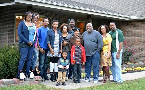 Family Photo {Living Outside the Stacks}