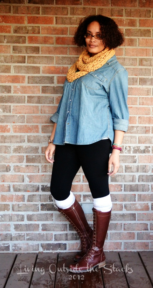What I Wore Friday {Living Outside the Stacks}