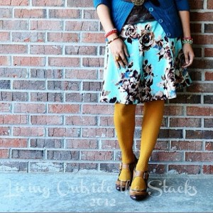 Day 21 What You Wore {Living Outside the Stacks}