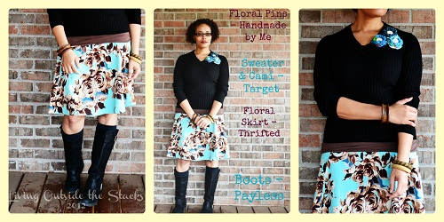 What I Wore Friday Collage {Living Outside the Stacks}