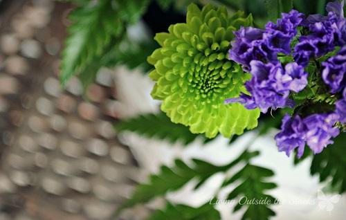 Birthday Flowers {Living Outside the Stacks}