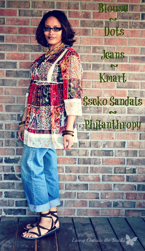 Floral Peasant Shirt Jeans and Sseko Sandals {Living Outside the Stacks} Floral Peasant Shirt Jeans and Sseko Sandals {Living Outside the Stacks}