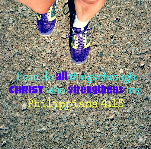 Running with a Purpose {Living Outside the Stacks}