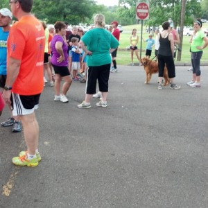 #NationalRunningDay 3 Mile Fun Run {Living Outside the Stacks}