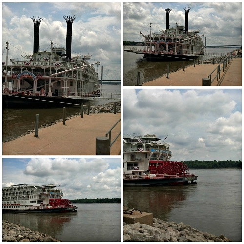American Queen Collage {Living Outside the Stacks}