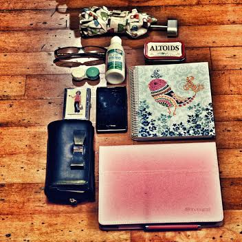Day 15 In My Purse {Living Outside the Stacks}