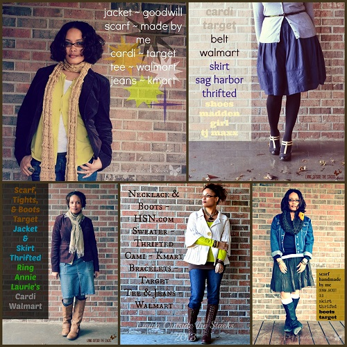 My Favorite Outfits of 2013 {Living Outside the Stacks}