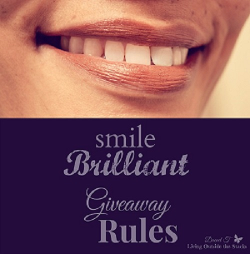 Smile Brilliant Giveaway {Living Outside the Stacks}