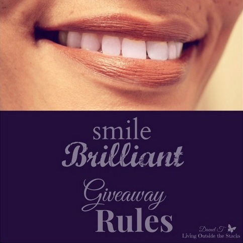 SmileBrilliant Teeth Whitening Kit Giveaway