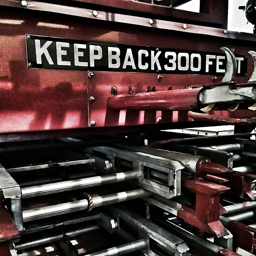 Cape River Heritage Museum Fire Truck
