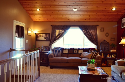 Living Room {Living Outside the Stacks}