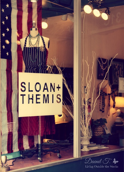Sloan + Themis {Living Outside the Stacks}