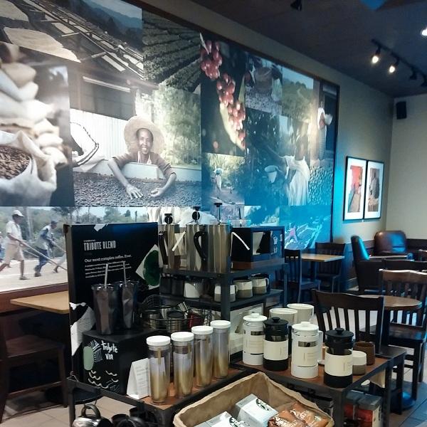 Starbucks {Living Outside the Stacks}