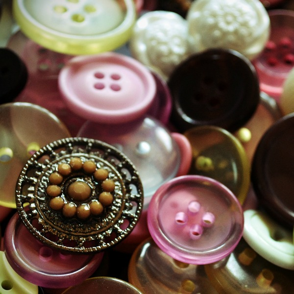 Day 3 Buttons {Living Outside the Stacks}