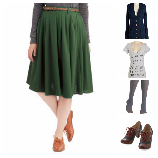 Autumn Look with Modcloth {Living Outside the Stacks}