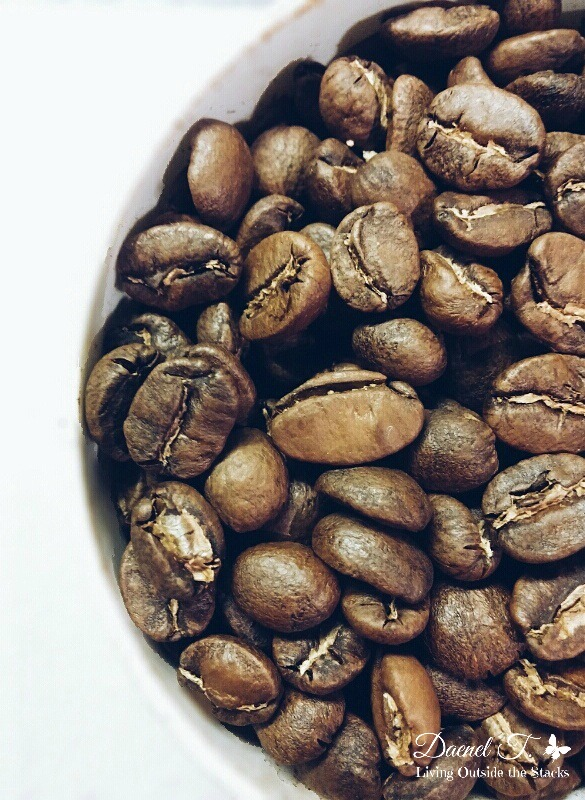 Coffee Beans from Dynamite Coffee {Living Outside the Stacks}