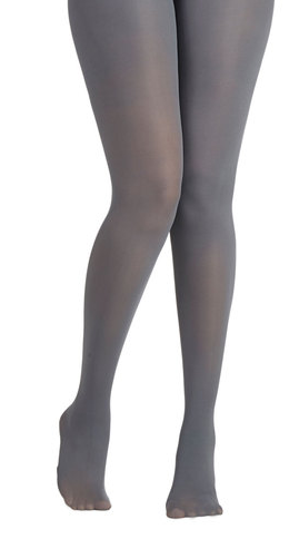 Layer It On Tights in Light Gray {Modcloth}