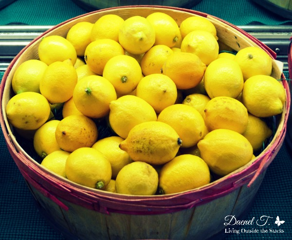 Lemons {Living Outside the Stacks}