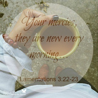 Your Mercies are New {Living Outside the Stacks}