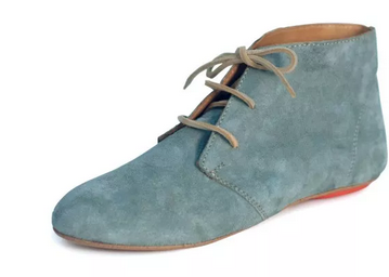 Gray Leather Suede Bootie Sseko Designs - Transitional Style Wish List {Living Outside the Stacks}