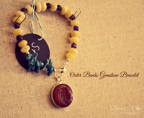 Outer Banks Gemstone Bracelet Sloan and Themis - Transitional Style Wish List {Living Outside the Stacks}