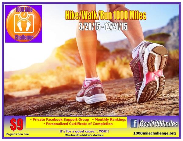 1000 Mile Challenge {Living Outside the Stacks} #1000MileChallenge #SweatPink #TeamLOTSRuns