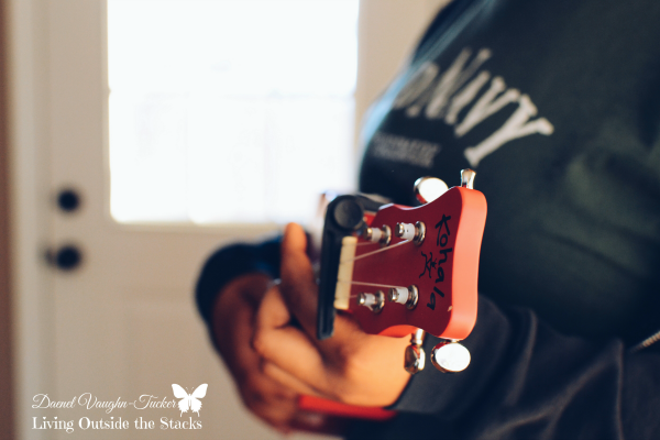 Out of Focus Guitar {Living Outside the Stacks} #OurProject52