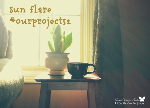 Week 16 Sun Flare {Living Outside the Stacks} #OurProject52