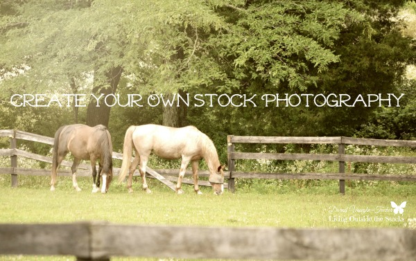Create Your Own Stock Photography {Living Outside the Stacks}