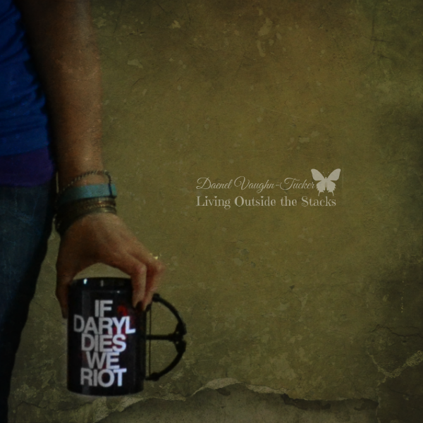 Negative Space  The Walking Dead Mug {Living Outside the Stacks} #OurProject52