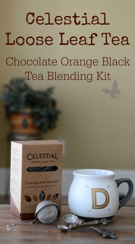 Celestial Loose Leaf Tea Chocolate Orange Black Tea Blending Kit {living outside the stacks}