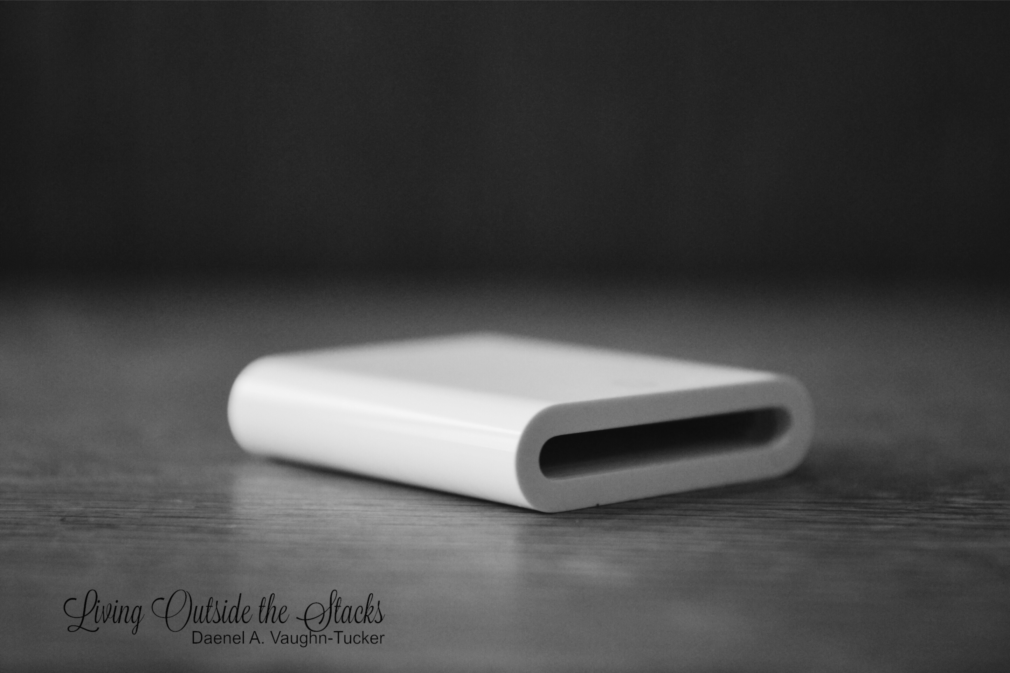 Monochrome Monday SD Card Adapter {living outside the stacks}