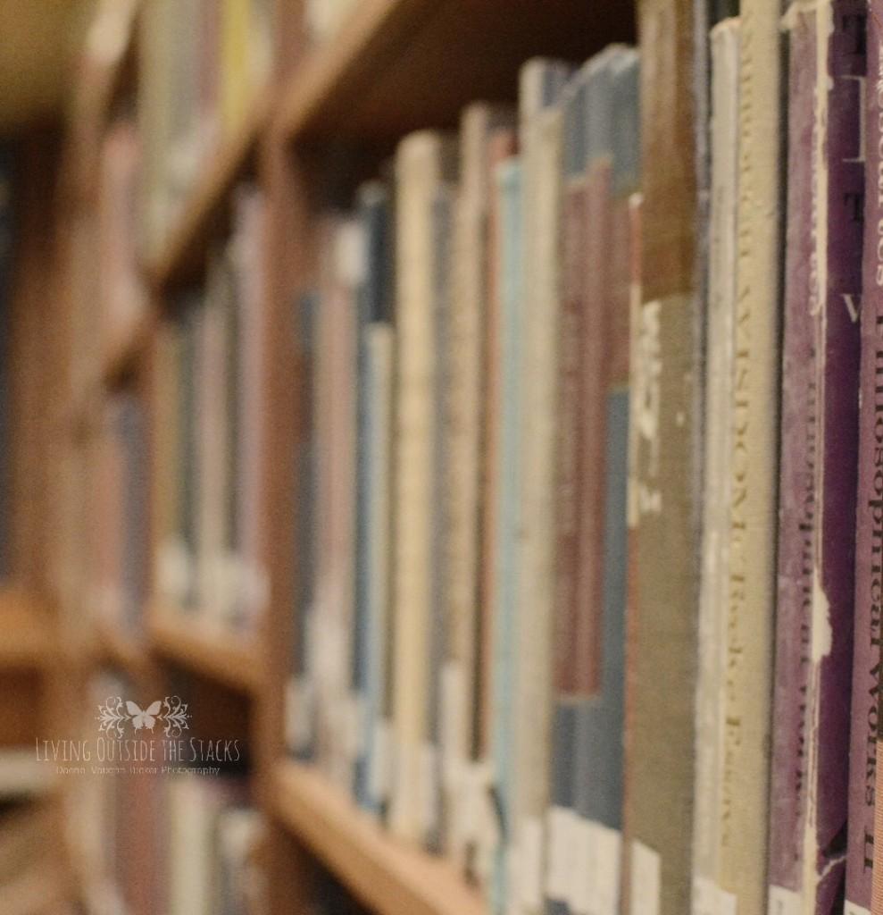 Books {living outside the stacks}