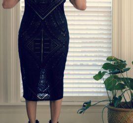 Ageless Style Blogger Holiday Dress {living outside the stacks} #livingoutsidethestacks #AgelessStyleBlogger