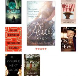 My 2016 Books from GoodReads {living outside the stacks}