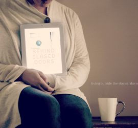 Book Review Behind Closed Doors by B A Paris {living outside the stacks}