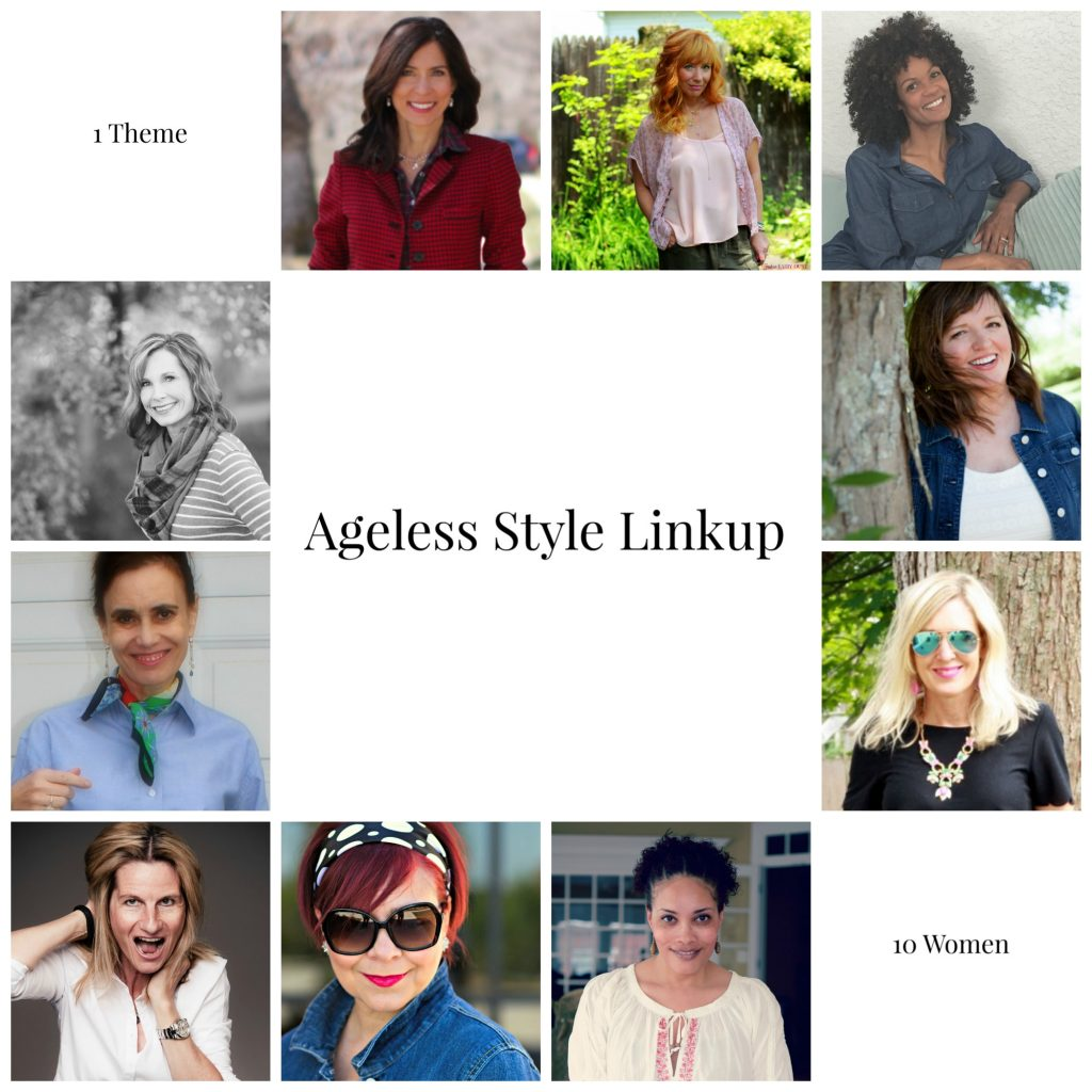 Ageless Style Linkup {Living Outside the Stacks} #AgelessStyleLinkup #StyleOver40 #StyleBlogger