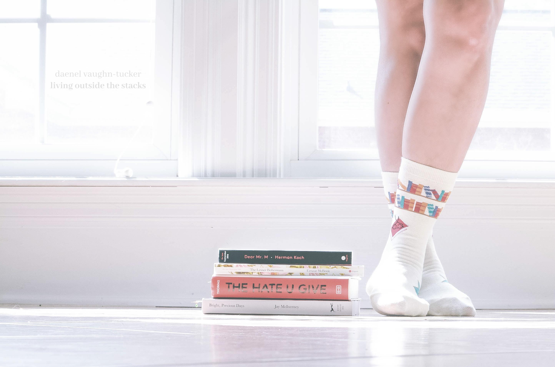 Week 13 Socks {living outside the stacks} #LivingOutsideTheStacks #TeamLOTS