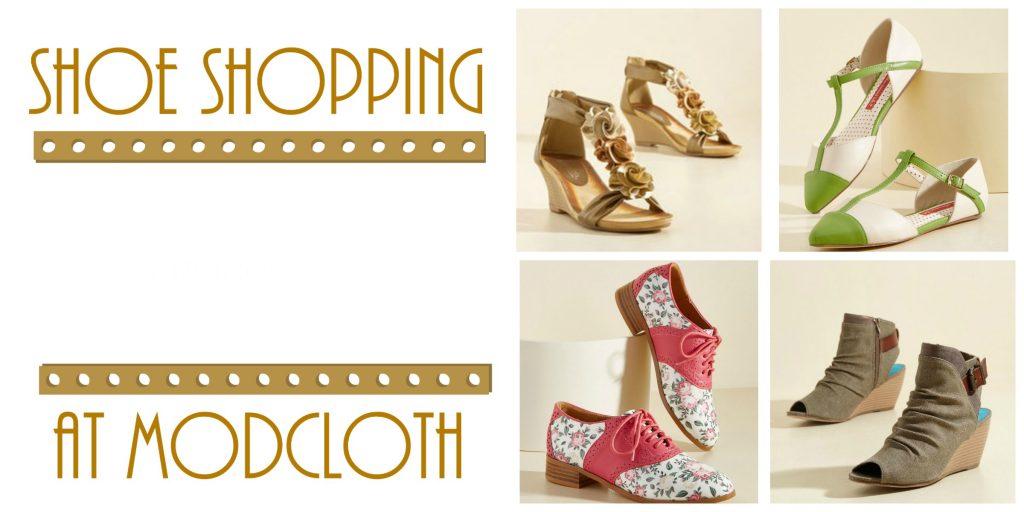 Shoe Shopping at Modcloth