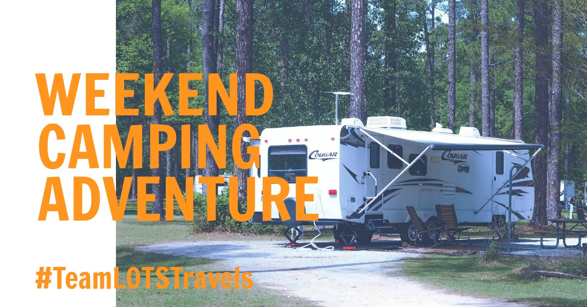 Weekend Camping Adventure {living outside the stacks}